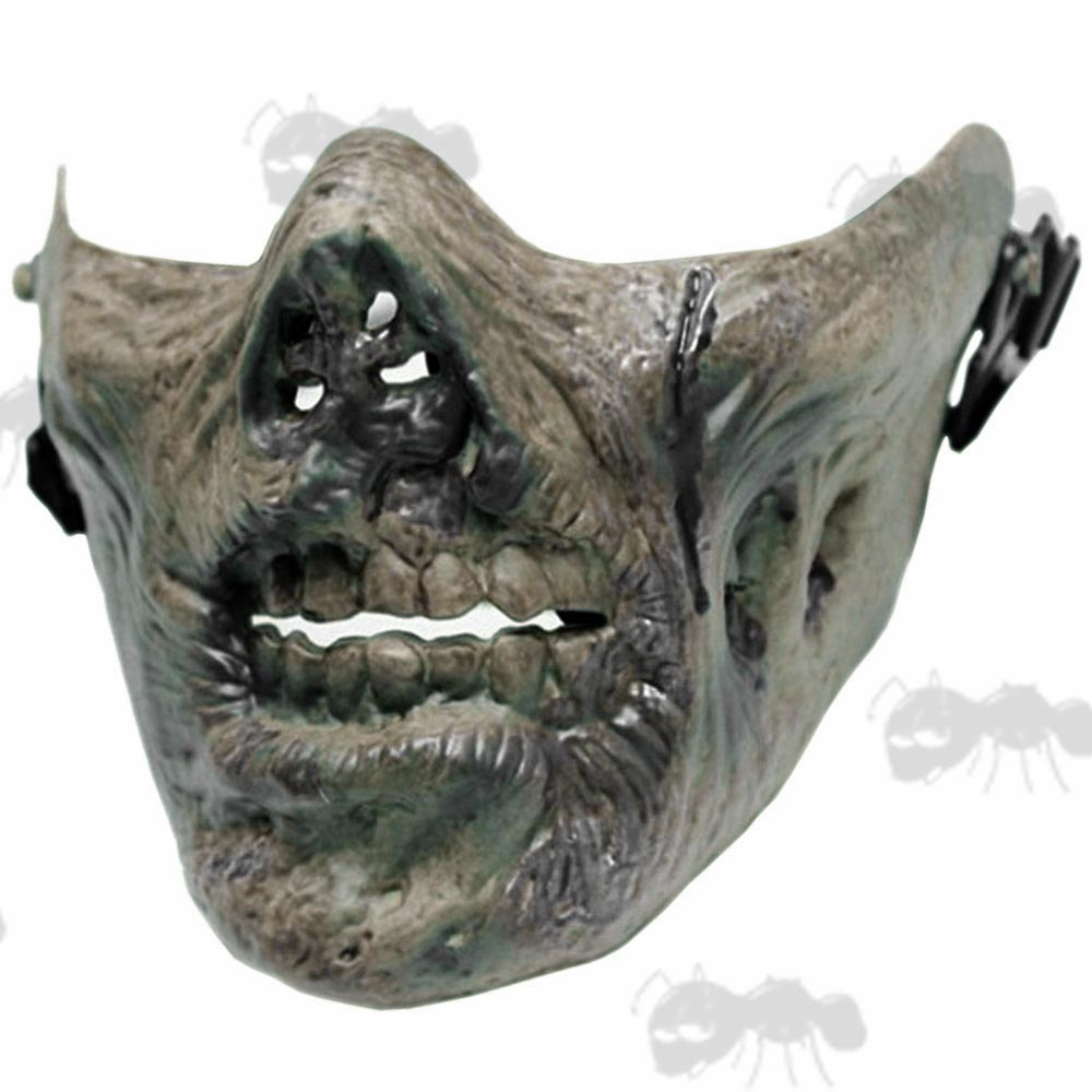 Zombie Airsoft Masks - Lower Face Z Mask | UK Freepost