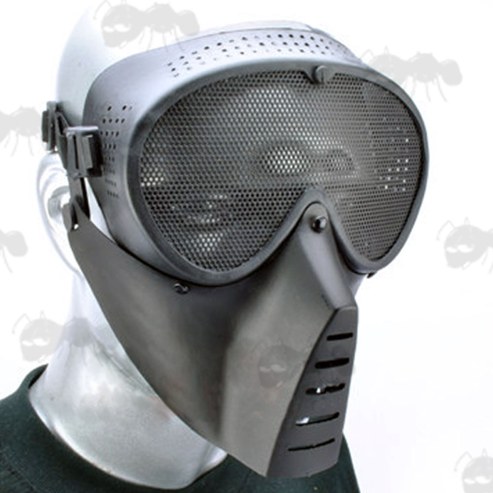 DISCONTINUED | Sensei Airsoft Mask - Black Masks | Free UK ...