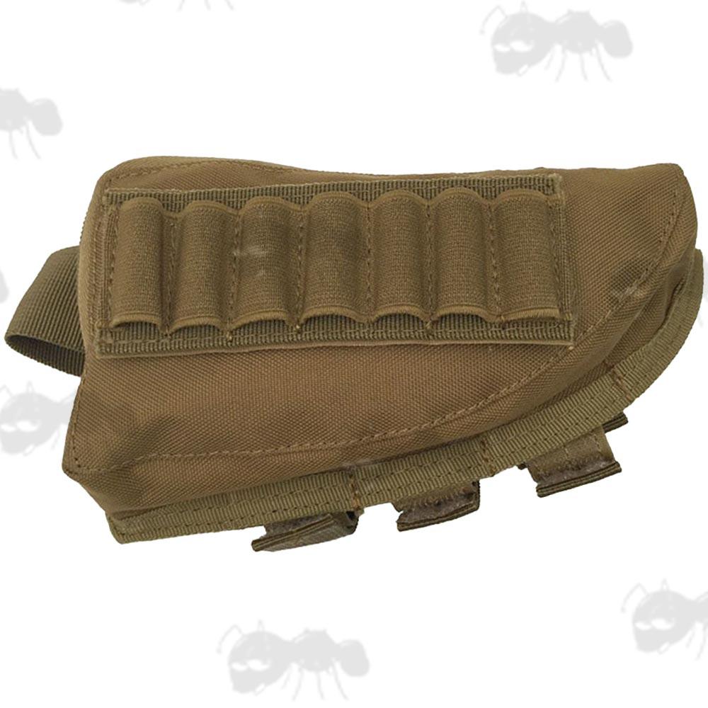 Ammo Pouch Cheek Pad Rest Rifle Shotgun Butt Stock Shell Holder
