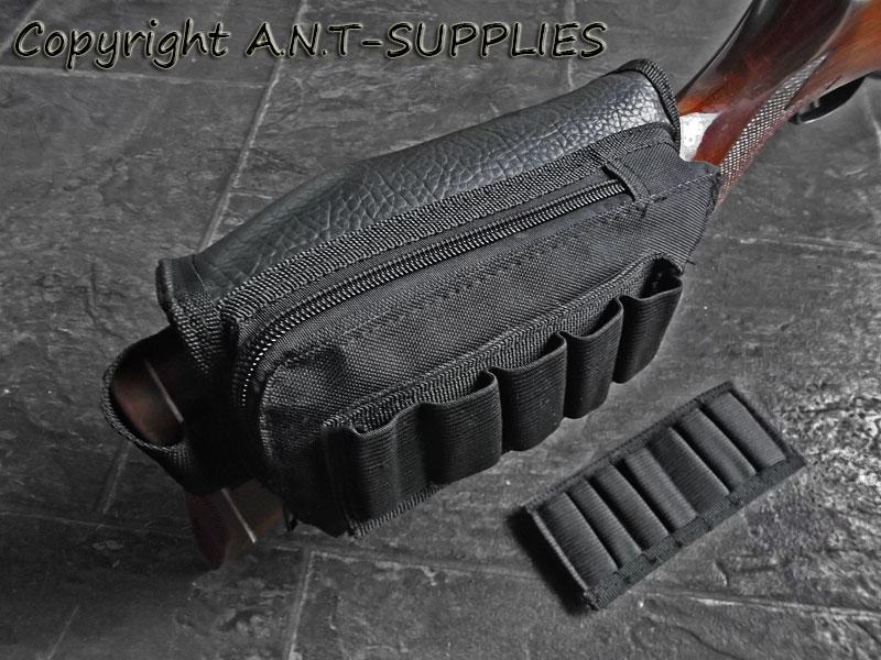 Ammo Pouch Cheek Pad Rest - Rifle / Shotgun Butt-Stock Shell