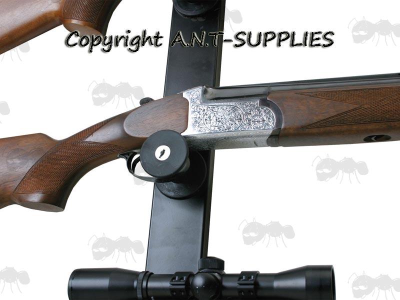 Nor Lyx Wall Mounted Gun Display Locks Free Uk Mainland