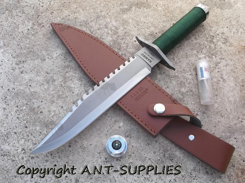 Rambo 1 Knife - First Blood Part I Rescue Knives | Freepost UK