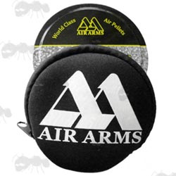 Black Air Arms Pellet Tin Cover
