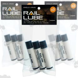 Three Tubes of Crossbow Lubewax