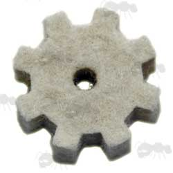 .308 AR Style Chamber Cleaning Cog Shaped Swab