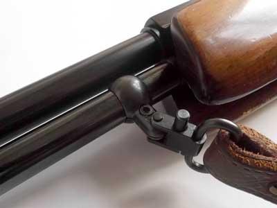Rifle Barrel Sling Fitting - Split Band QD Swivel Base - Air-Gun