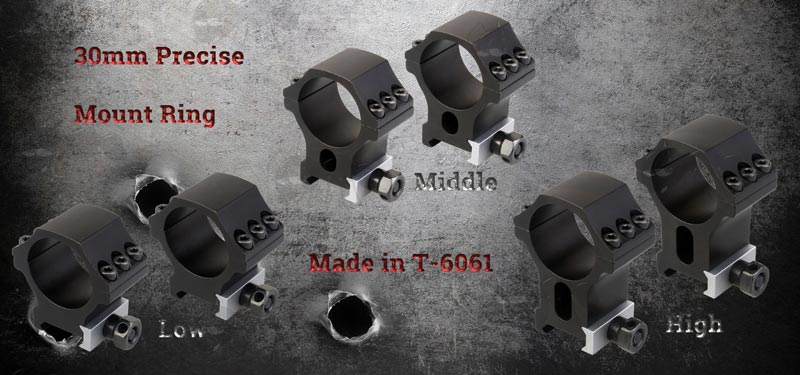 Advert for Tactical X Accu Picatinny Scope Rings