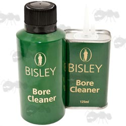 125ml Green Tin With Spout and 150ml Aerosol Canister of Bisley Gun Bore Cleaner Solvent