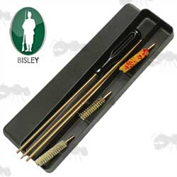 Bisley Standard .22 Calibre Rifle Barrel Cleaning Rod Kit in Black Storage Case