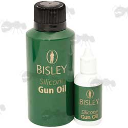 Dropper Bottle and Aerosol Canister of Bisley Silicone Oil