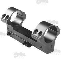 One Piece Forward Reach Dovetail Rail Scope Mount with Adjustable Windage and Elevation