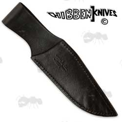 Gil Hibben Black Leather Throwing Knife Sheath