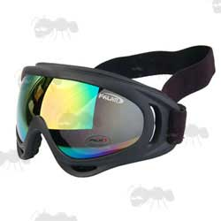 Falan Low Profile Airsoft Goggles with Multi Coated Lens