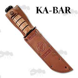 Ka-Bar Heavy-Duty Replacement Leather Sheath