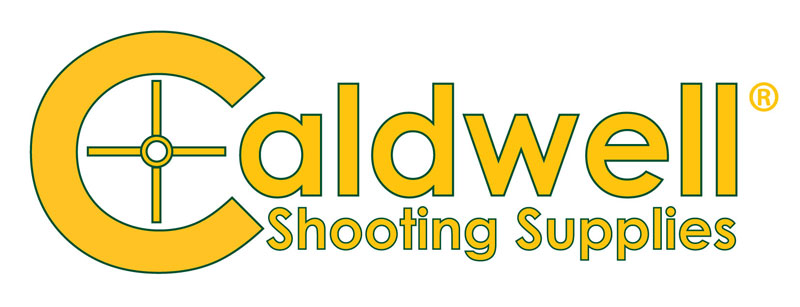 Caldwell Shooting Supplies Yellow Text Logo