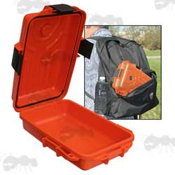 Orange Small MTM Case-Gard Survivor Dry Box