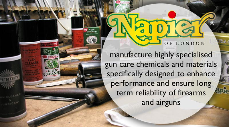 Napier of London Gunsmiths Workshop Banner