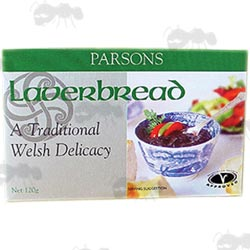 Box of Parson Pickles Welsh Laverbread