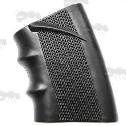 Black Textured Rubber Slip-on Gun Grip Cover Sleeve