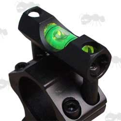 Rifle Scope Mount Spirit Level for 25mm Rings