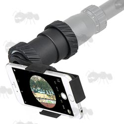 Adjustable Scope Mount for Smart Phones