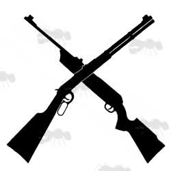 Rifles Icon Silhouette