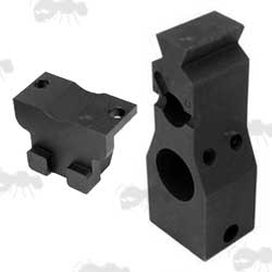 Pair of SA80 RIS Handguard Airsoft Adapters for ICS Rifles