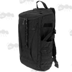 1200D Black Polyester Ballistic Shooters Recon Rucksack With 25 Litre Capacity