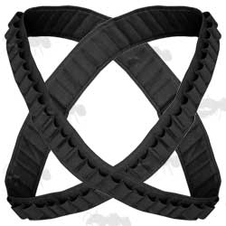Two Black Ammunition Bandoliers
