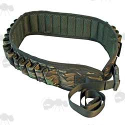 Smokey Branch Camo Shotgun Cartridge Belt