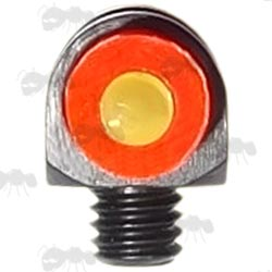 Red and Green Coloured Shotgun Bead Front Sight With 3mm Thread