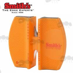 Yellow Smith's Two Step Compact Pocket Sized Knife Sharpener