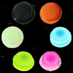 Six Silicone Boots for Tactical Torch Tailcap Switches