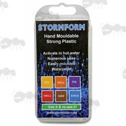 StormForm Hand Mouldable Strong Plastic in Retail Packaging