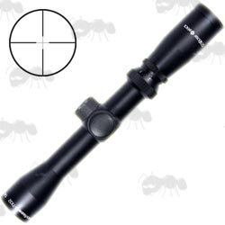 Vector Optics Reaver Long Eye Relief Pistol Scope With Adjustable Magnification and Duplex Crosshair View