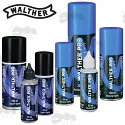 Walther Pro Universal and Expert Gun Oil Ranges