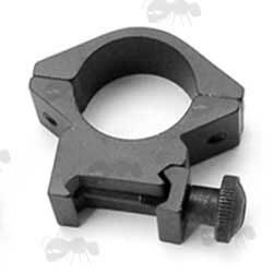 Standard Rifle Scope Ring Mount for Weaver / Picatinny Rails