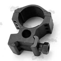 Triple Clamped Rifle Scope Ring Mount for Weaver / Picatinny Rails