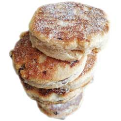 Stack of Homemade Welsh Cakes