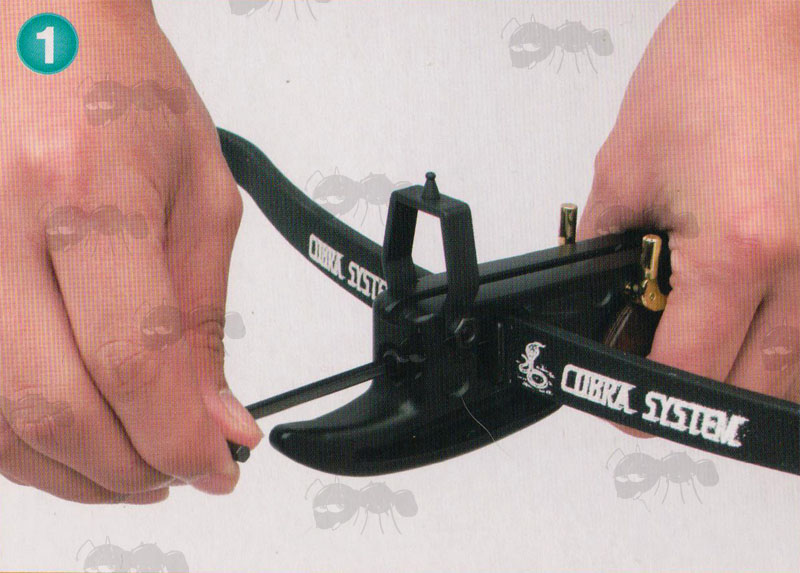 Pistol Crossbow Guide - Safety Assembly Cocking Loading and