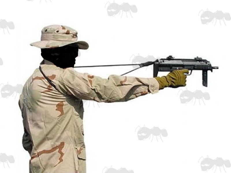 Original British Sterling Submachine Gun Green Web Sling- Dated ...