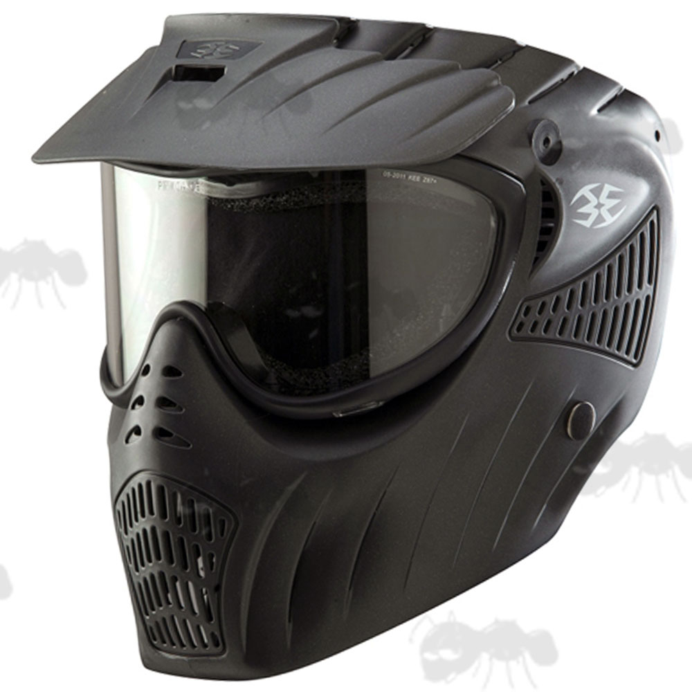 Paintball Mask with Clear Goggles - FREE UK Mainland Delivery