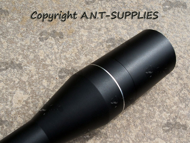 Rifle Scope fitting with Sunshade