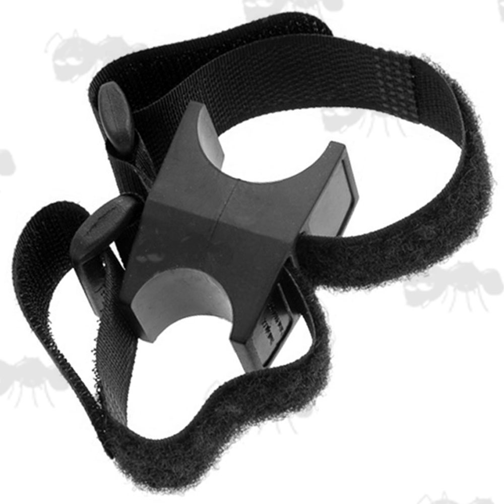 Universal Inline Rubber Block and Velcro Strap Mount