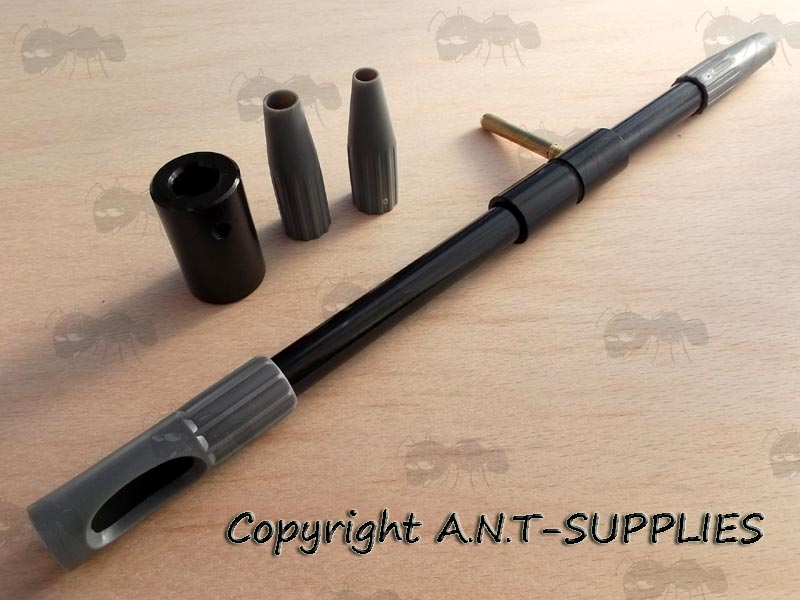 Antac Rifle Chamber Cleaning Bore Guides 17 To 30 Calibres
