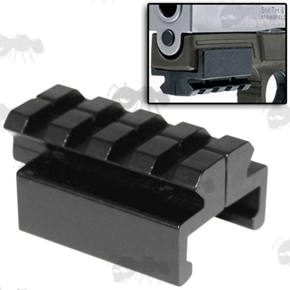 Pistol Trigger Guard Rail Mount M9 1911 Sv Handgun