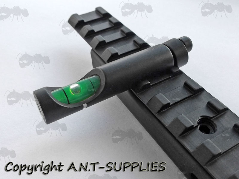 Rifle Rail Spirit Level Weaver Amp Dovetail Anti Cant