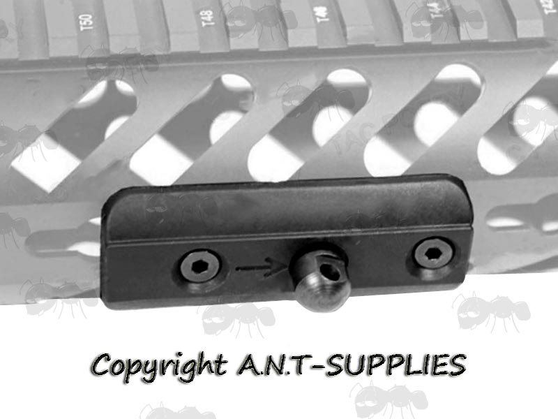 KeyMod Bipod Mount Adapter - MLok QD Bipod Stud | UK Freepost