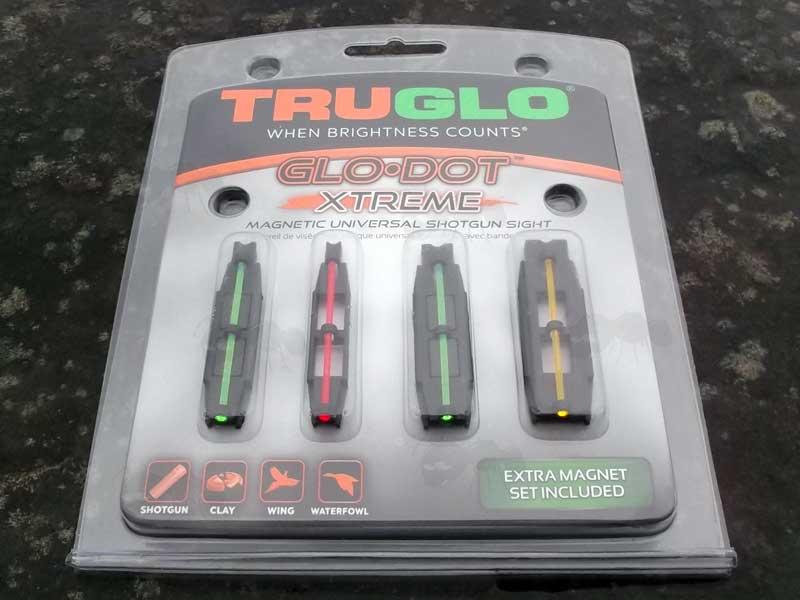 Truglo Universal Fibre Optic Sights - Shotgun Rib Glo Dot Sight